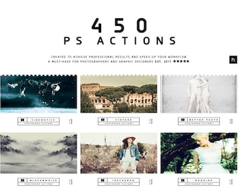 450 Photoshop Actions