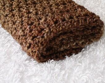 Brown Sugar Newborn Baby Blanket Throw