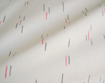 "60"" Wide Ivory Cream Dobby Cotton Shirting, Dress Fabric Sold by Yard"