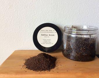 Coffee Sugar Scrub, Coffee, Raw Sugar, Scrub, Essential Oil, Coconut Oil, Skincare, Lavender
