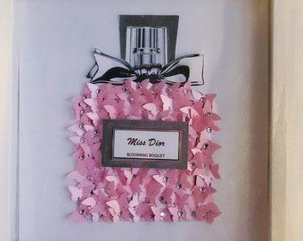 Dior 3D Butterfly Art