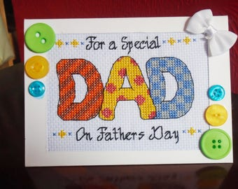 For a special Dad - Digital Download Pattern