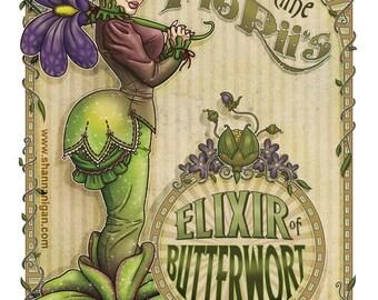 Elixir of Butterwort - 8x10 Giclee Print