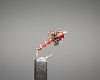 Fly Fishing Flies - Blood Midge