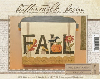Fall Table Runner by Buttermilk Basin - SALE!!