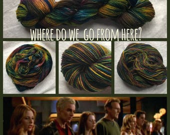 Where Do We Go From Here? Handpainted Sock Yarn