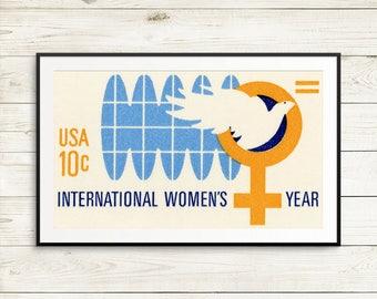 international womens day poster, international womens day, womens day poster, feminist wall art, feminist art, wall art, feminism posters