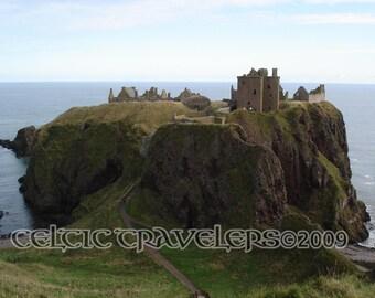 Dunnottar Castle, Aberdeenshire, Scotland -  Original 11 x 14 Art Photograph