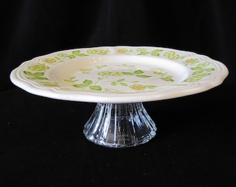 Cupcake Stand, Fruit Veggie Stand, Soap Dish or Jewelery Stand Upcycled