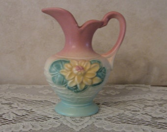 Hull Pottery Water Lily ewer