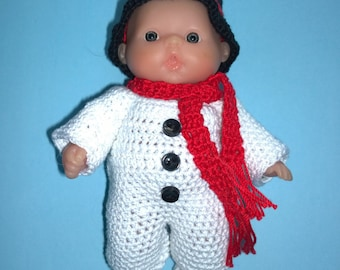 """5"""" Lots To Love Doll Snowman Outfit"""
