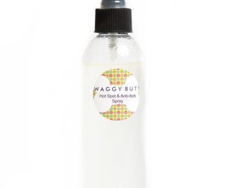 Waggy Butt Hot Spot & Anti-Itch Spray~8 oz.