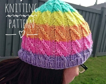 Knitting PATTERN - Unicorn Slayer, Digital Download, DIY Pattern, PDF Pattern