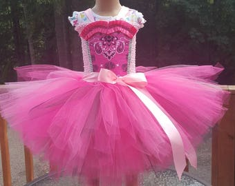 Cute cowgirl tutu dress! Special orders welcomed!