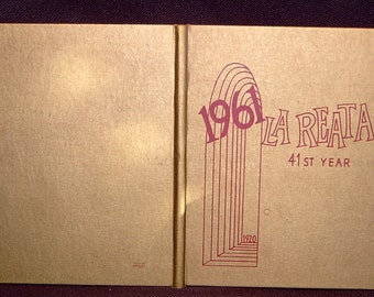 Yearbook La Reata Harknell College 1961 Book Album Annual