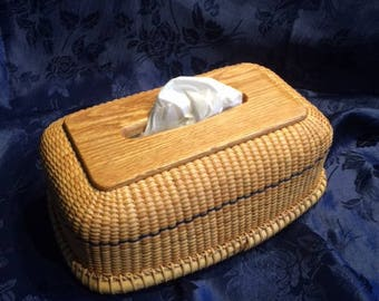 Nantucket tissue box cover