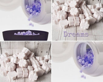 5 DREAMS Wax Melts, Lavender Wax Melts, Vanilla Wax Melts, Lavender and Vanilla Wax Melt, Lilac Wax Melts, Lenor Unstoppables Type Wax Melts