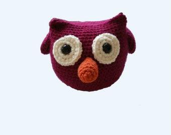 Owl Decor, Baby Girl Gift, Baby Boy Gift, Owl Nursery Decor, Nursery Decor, Stuffed Owl, Owl Stuffed Animal, Owl Baby Toy, Crochet Owl Toy