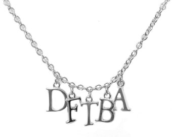 DFTBA Nerdfighter Charm Necklace