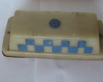 Vintage Soviet Plastic Pointer Pins on TAXI Car