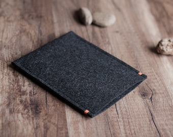 Kindle Voyage, Kindle Paperwhite, Oasis, Fire case sleeve, anthracite felt with a colour accent