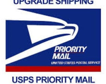 UPGRADE Shipping - Add PRIORITY Mail ONLY