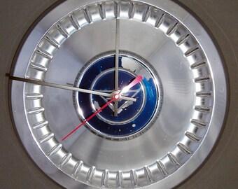 Chevrolet Hubcap Clock - 1962 1963 1964 Corvair Chevy II Hub Cap