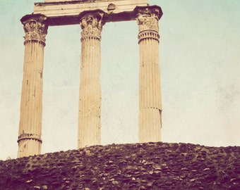 The Forum - Rome photograph, Italy decor, fine art, travel photography, architecture, vintage, wall art