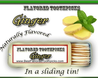 Ginger Flavored Toothpicks - Grill Tools, Grill Set, Grilling Gifts, Grill Accessories, Grilling Tools, Grilling Accessories, Guy Gifts