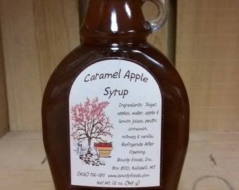 Caramel Apple Syrup