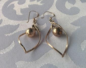 Sterling Silver Dangle Earrings, Sterling Silver Earrings, Silver Earrings