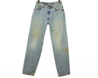Size 30 Vintage Levis, Size 30 Levis, Levis Waist Size 30, Light Vintage Levis, Vintage Jeans, High-waisted Denim, 90s Denim, 560 Levis