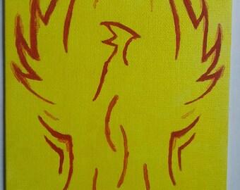 Bird of Fire painting