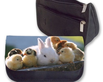 BUNNY And CHICKS Pencil Case