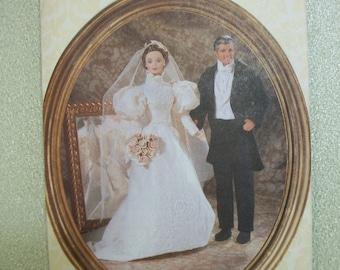 "Vogue 9985 Historical Bridal 11 1/2"" doll.  Linda Carr"