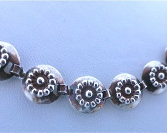 Danish Daisy Sterling Silver Necklace