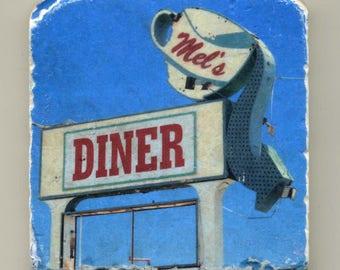 Mel's Diner in Phoenix - Original Coaster