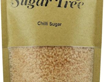 Chilli Sugar - Handmade - Naturally Flavoured Chilli Sugar - Chilli Sugar - Flavoured Sugar - Gourmet Sugar