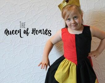 Queen of Hearts (Alice in Wonderland) - Disney Inspired Dress
