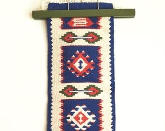 Southwestern Style Woven Table Runner- Wall Hanging