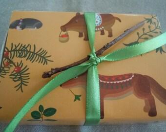 Whimsical Woodland Message Box