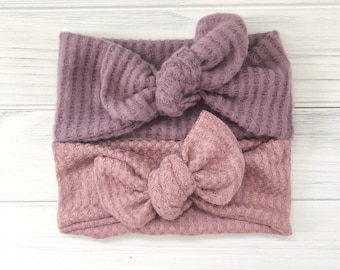 Newborn Bows | Headbands for Baby Girl | Baby Bow Head Wraps | Baby Headbands | Baby Headwrap | Baby Bows