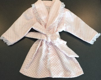 """Doll robe - multiple color & pattern choices!! American Girl or 18"""" doll"""