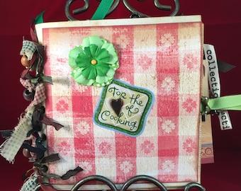 Kitchen/Cooking/New Home: Paper Bag Album