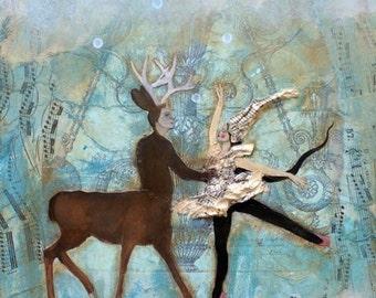 Eine Erinnerung an den Tanz im Wald