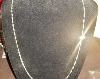 """Solid Gold 14k Necklace Chain-24"""""""