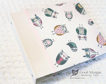 0 to 12 months Baby Memory Book - Hip-Owls