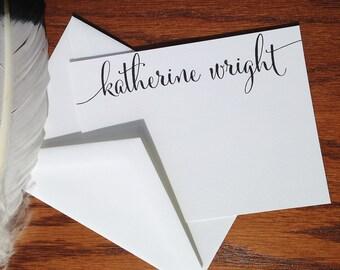 Personalized Stationery Set, Personalized Correspondence Cards, Personalized Thank You Cards,  Personalized stationary note cards