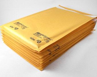 150 - Kraft Bubble Mailer 6 x 10 Size 0 Padded Mailer