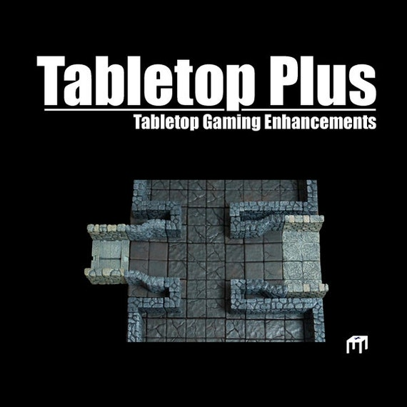 Wall-On-Edge Adapter for Versatile Modular Dungeon